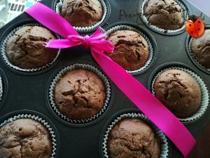 Czekoladowe muffinki z cukinią, które mogą uzależnić
