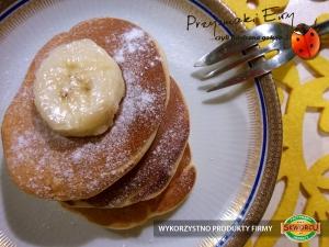 Placuszki - racuszki z kawałkami banana (bez proszku do pieczenia)