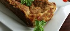 Pieczeń z cukinii z żółtym serem i natką pietruszki (pasztet z cukinii)